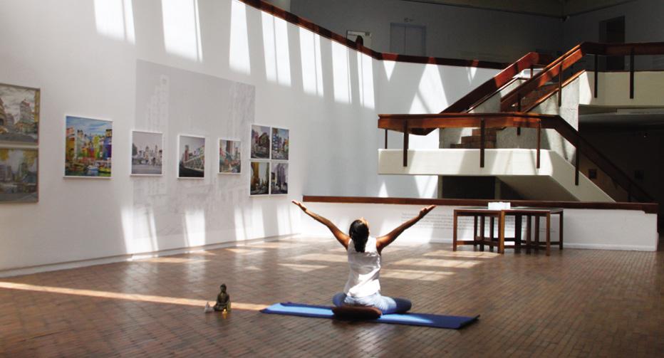 Yoga en el MAMBO
