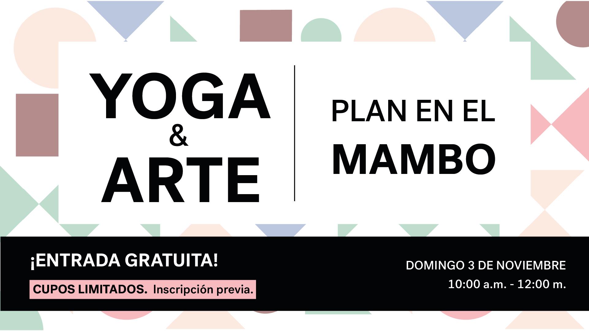 Yoga y arte en el MAMBO