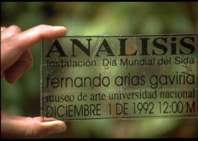 Seropositivo. 1994