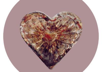 Corazón de sangre. Seropositivo.