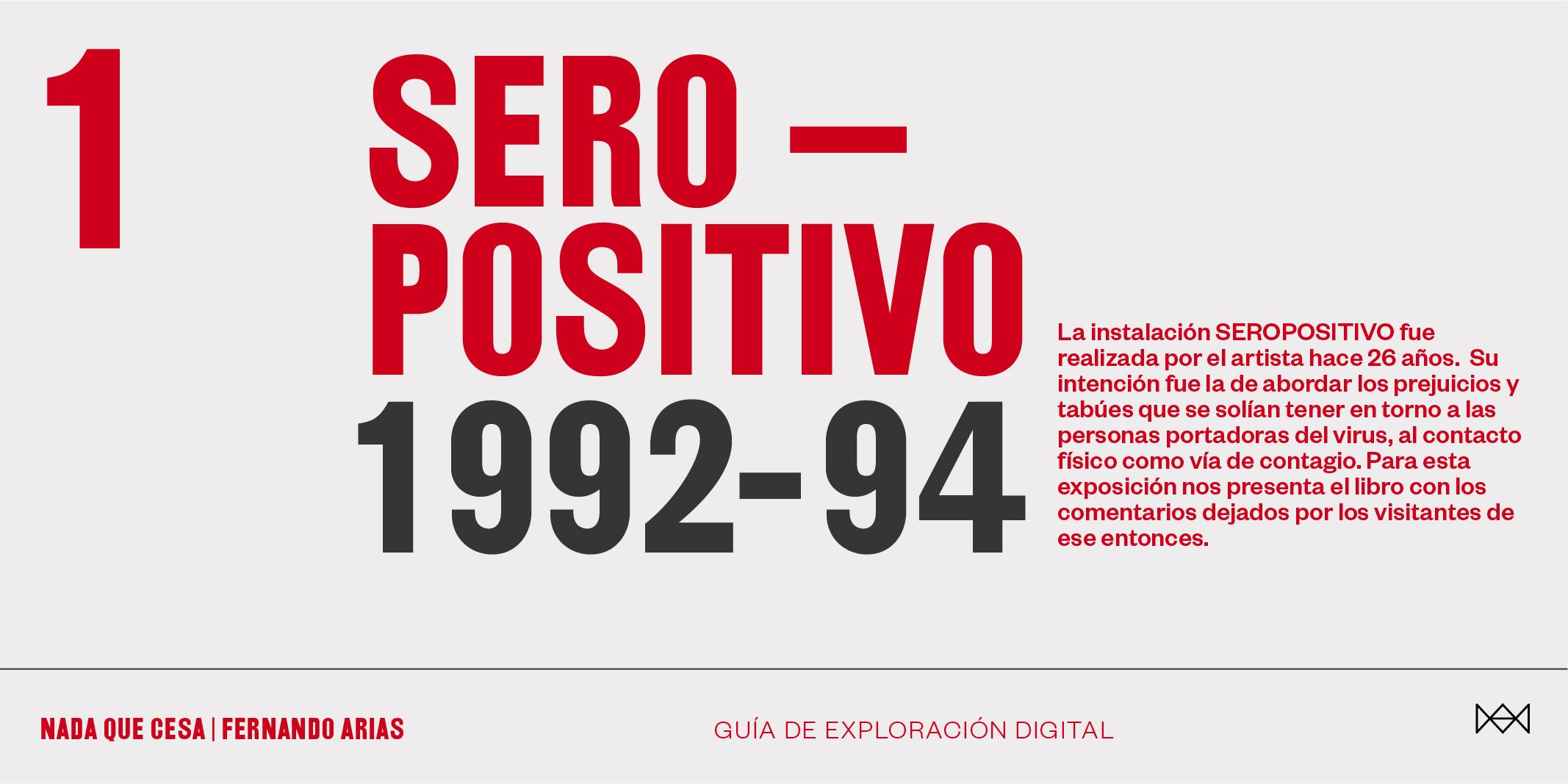 Seropositivo (1992-94).